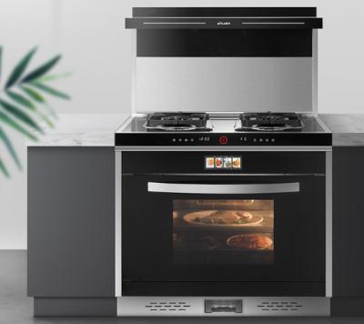 带蒸烤箱的集成灶安全性如何?实用吗?